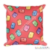18x18 Throw Pillow - Planner Girl