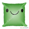 18x18 Throw Pillow - Smile Steve