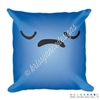 18x18 Throw Pillow - Sad Steve
