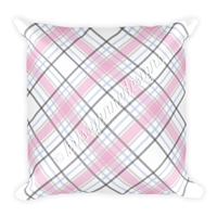 18x18 Throw Pillow - October Plaid