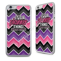 KAD Phone Case - Chevron Planner Thing
