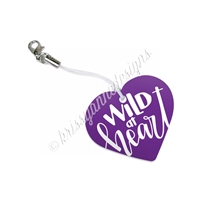 KAD Charm - Purple Wild at Heart