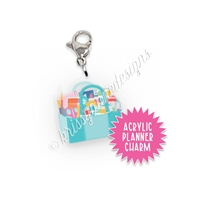 Acrylic Planner Charm - Craft Tote