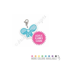 Acrylic Planner Charm - Doodle Bow
