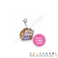 Acrylic Planner Charm - Everything is Fine Steve