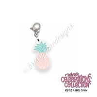 Acrylic Planner Charm - 2021 Summer Pineapple