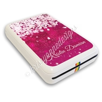 Photo Printer Decal - Deep Pink Sakura