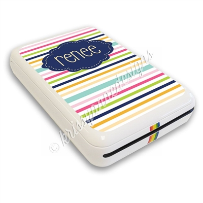 Photo Printer Decal - Stripes
