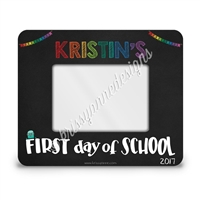 First Day of School Rectangle Picture Frame - 4x6