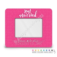 Rectangle Picture Frame - 4x6 - Just Married