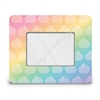 Rectangle Picture Frame - 4x6 - Rainbow Apples