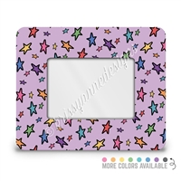 Rectangle Picture Frame - 4x6 - Doodle Stars