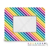 Rectangle Picture Frame - 4x6 - Stripes