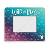 Rectangle Picture Frame - Wild and Free