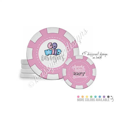 Tradeable Poker Chips - Planner Friends - 5pk