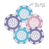 Tradeable Poker Chips - Dealer's Choice - 5pk
