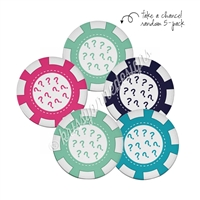 Tradeable Poker Chips - Dealer's Choice Dreamer - 5pk