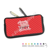 One Sided Zippered Pen Pouch - Planner Friends