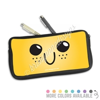One Sided Zippered Pen Pouch - Freckle Steve