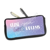Zippered Pen Pouch - Chase Your Wildest Dreams