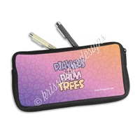 Zippered Pen Pouch - Planners & Palm Trees