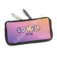 Zippered Pen Pouch - GW2020 - Planners & Palm Trees