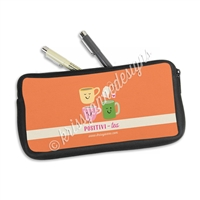 Zippered Pen Pouch - Positivi-Tea