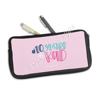 Zippered Pen Pouch - 10 Years of KAD