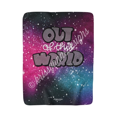 50x60 Sherpa Blanket - Out of this World