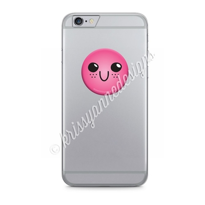 PopSockets® Grip - Pink Freckle Steve