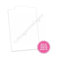 Savings and Memory Box Insert - Clear w/ Pull Tab