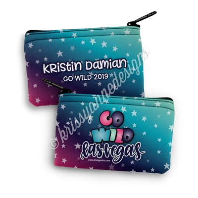 Two Sided Zipper Pouch - GO Wild 2019 - Dream Chaser