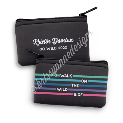 Small Zipper Pouch - Wild Side