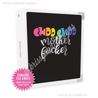 Signature KAD Sticker Binder - Choo Choo MF (UNCENSORED)