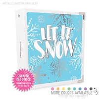 Signature KAD Sticker Binder - Let it Snow