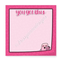 "Limited Edition 3"" Sticky Note Pad - You Got This"