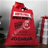 Personalized Santa Sack - Red