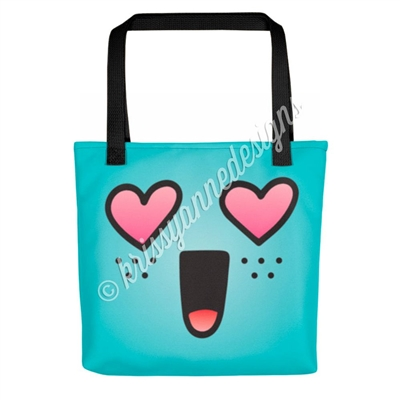 KAD Signature Tote - Heart Eye Steve