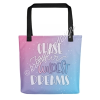 KAD Signature Tote - Chase Your Wildest Dreams