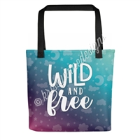 KAD Signature Tote - Wild and Free