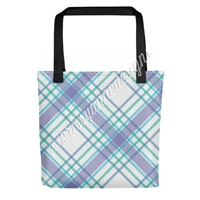 KAD Signature Tote - May Plaid
