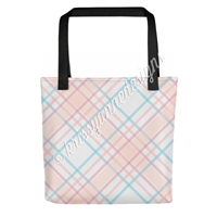 KAD Signature Tote - June Plaid