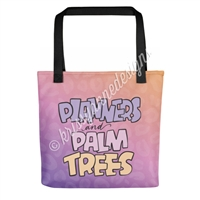 Signature Tote - Planners & Palm Trees
