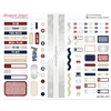 Functional Sampler Set for Pocket Traveler's Notebooks - Home of the Brave