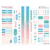 Functional Sampler Set for Pocket Traveler's Notebooks - Soak up the Sun
