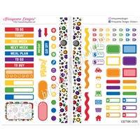 Functional Sampler Set for Pocket Traveler's Notebooks - School Days