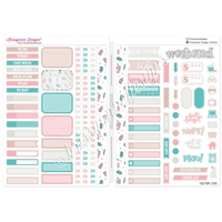 Functional Sampler Set for B6 Traveler's Notebooks - Ice Cream & Sprinkles