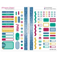 Functional Sampler Set for Pocket Traveler's Notebooks - School is Cool