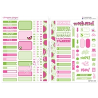 Functional Sampler Set for B6 Traveler's Notebooks - One in a Melon