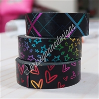 KAD Exclusive Midnight Rainbow Washi